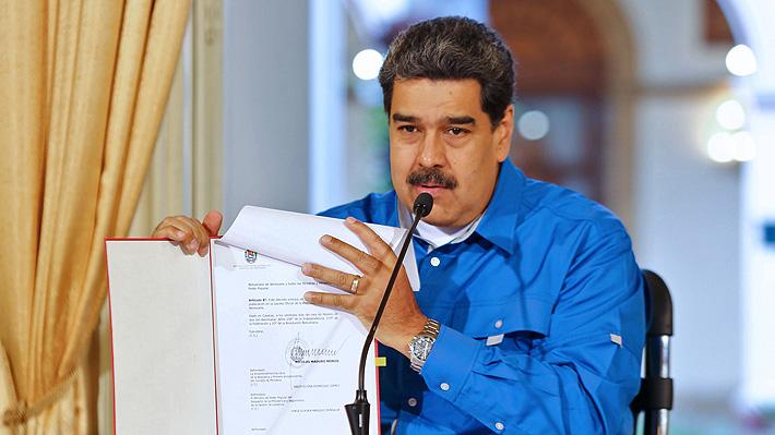 """Maduro conmemora seis años de la muerte de Chávez y asegura que vencerá a una """"minoría alocada"""""""