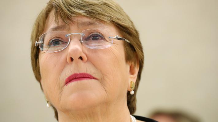"""Bachelet asegura que existen violaciones de """"derechos políticos y civiles"""" en Venezuela"""