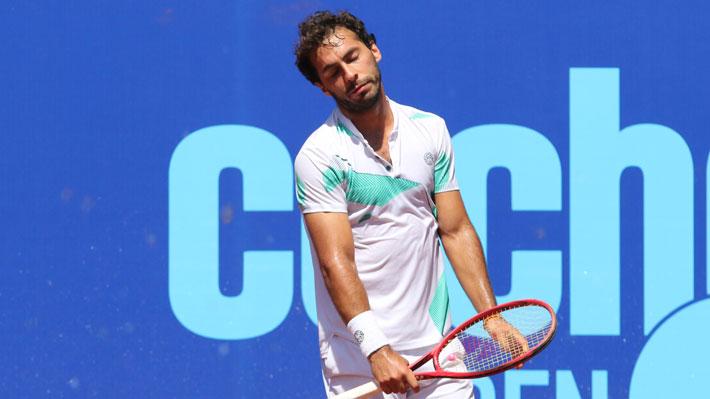 El Challenger de Santiago se queda sin chilenos: Gonzalo Lama y Bastián Malla cayeron en segunda ronda