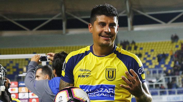 Mira los cuatro tantos con los que Patricio Rubio brilló en triunfo de la U. de Concepción en la Libertadores