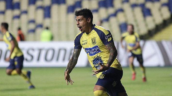 Patricio Rubio histórico: El recórd que rompió el delantero de U. de Concepción con su brillante actuación en la Libertadores