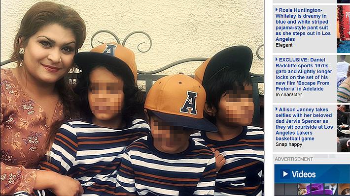 Madre de tres niños con severo autismo pidió ayuda a las autoridades británicas publicando imágenes de su día a día