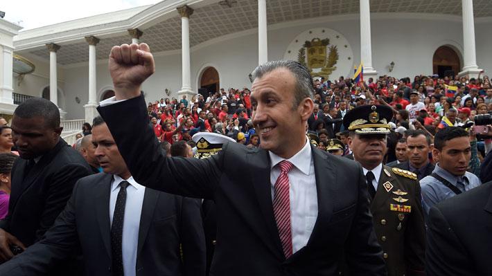 EE.UU. presenta cargos contra ex vicepresidente de Maduro por presunta implicación en narcotráfico