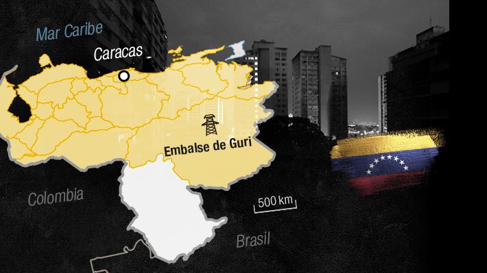 Infografía: La magnitud del corte de energía en Venezuela y cuáles son sus principales consecuencias