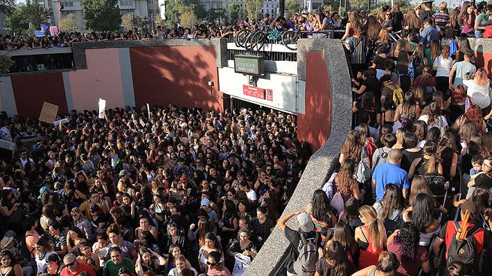 Balance del 8M: Autoridades informan que 190 mil personas marcharon en Santiago y que hubo 6 detenidos