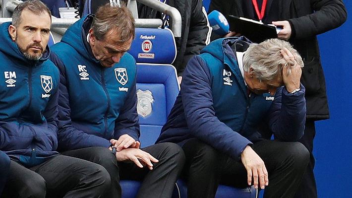 El West Ham de Pellegrini cayó ante el Cardiff y continúa con su irregular temporada en Premier League