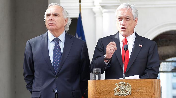 """Chadwick: El primer año de Gobierno de Piñera """"ha sido mejor para los chilenos de lo que fueron los años anteriores"""""""