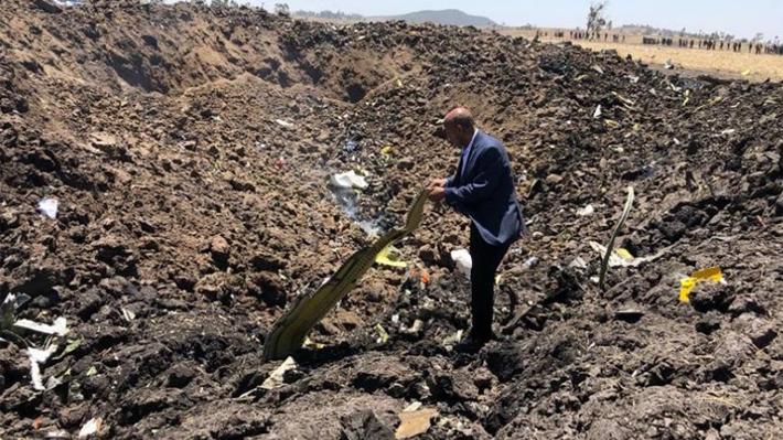 Tragedia: Confirman que no hay sobrevivientes del accidente que sufrió avión en Etiopía con más de 150 personas