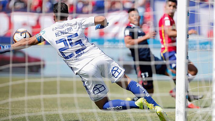 Notoria falla de Herrera sentencia triunfo de Unión ante la U que otra vez se enreda en el Torneo Nacional