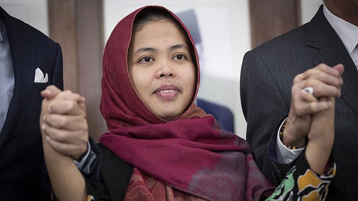 Liberan a una de las mujeres acusadas de matar al hermano de Kim Jong-un en Malasia