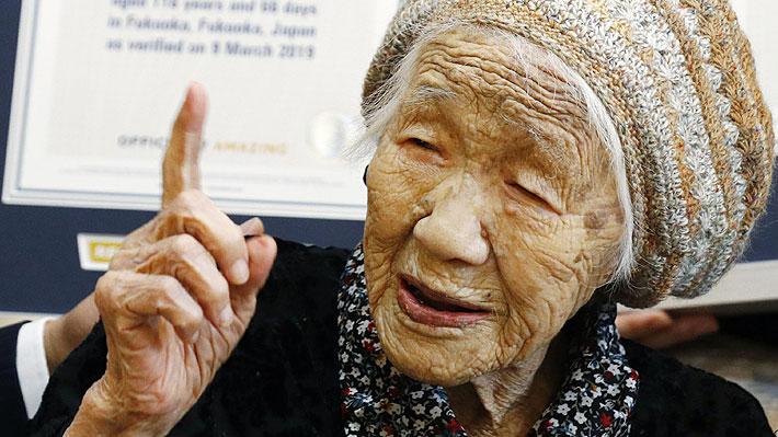 Una mujer japonesa es la persona viva más anciana del mundo: le gusta estudiar matemáticas y es experta en un juego de mesa