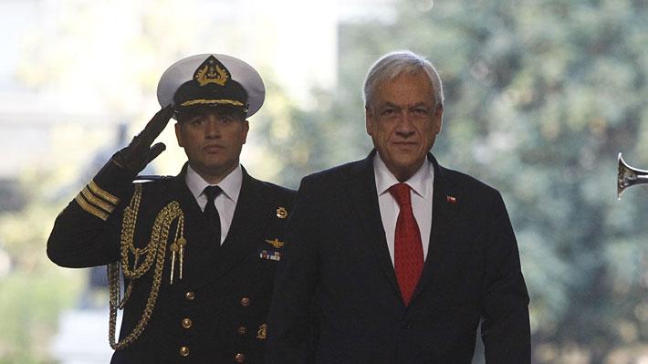 Piñera inicia segundo año con un 37% de aprobación en un 2019 marcado por impulso de reformas