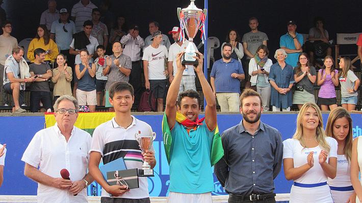 El boliviano Hugo Dellien se coronó como el flamante campeón del Challenger de Santiago
