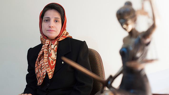 Condenan a cárcel en Irán a abogada defensora de los derechos de la mujer