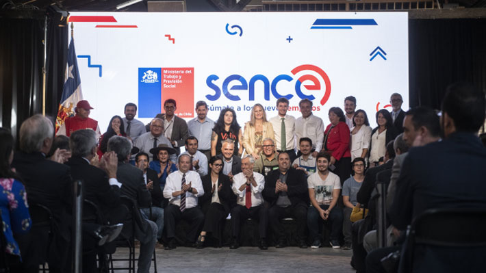 Piñera anuncia modernización del Sence que apunta a mejorar empleabilidad bajo la 4° revolución industrial