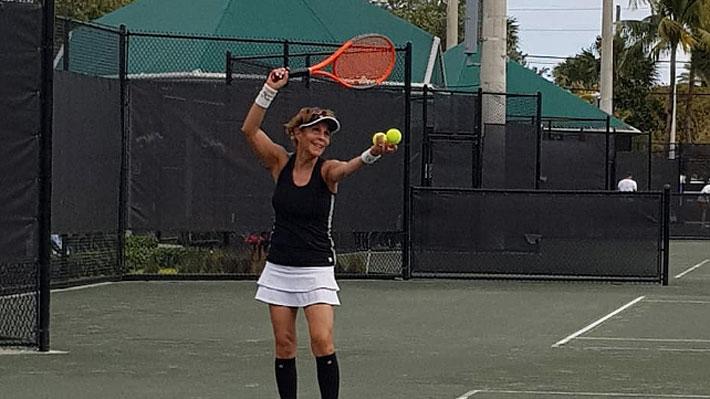 """Leyla Musalem, la chilena que alcanzó el N°1 del mundo en tenis senior y que asegura """"nació en la época equivocada"""""""
