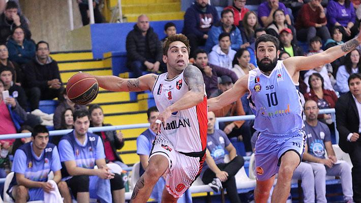 Ancud gana en infartante partido a Las Ánimas y avanza a la final de la Conferencia Sur de la Liga Nacional de Básquetbol