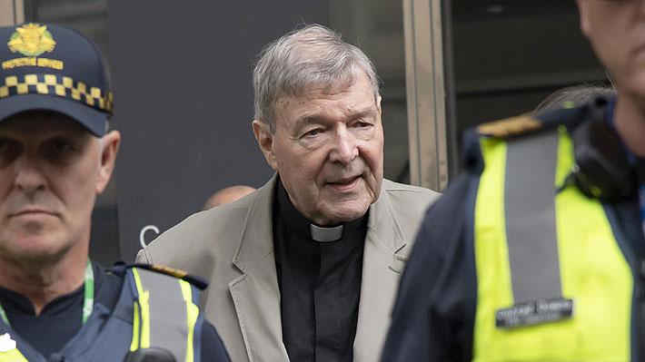 Cardenal australiano George Pell conocerá este miércoles su condena por abuso sexual de dos menores