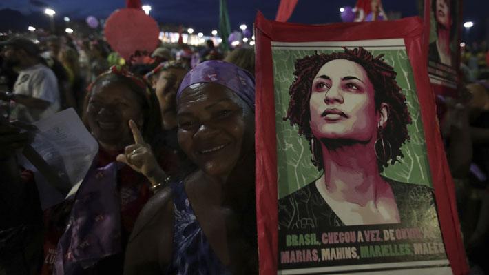 Detienen a dos policías en Río de Janeiro como sospechosos del asesinato de la concejala Marielle Franco