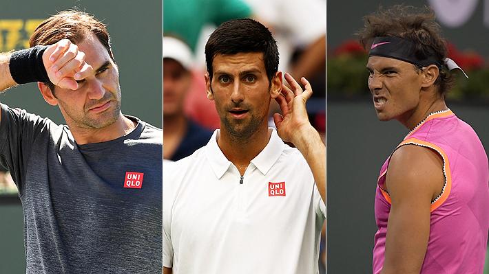 Quiebre en la cúpula del tenis: La polémica que tiene enfrentados a Federer y Nadal contra Djokovic