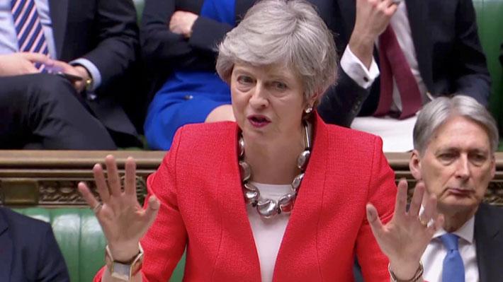 May avisa que el Brexit podría no concretarse si el Parlamento rechaza el acuerdo de salida