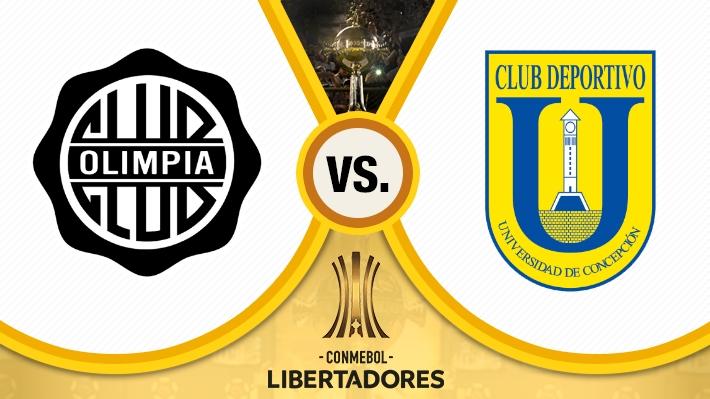Revise cómo fue el empate de U. de Concepción ante Olimpia por la Libertadores