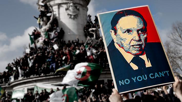 La rebelión de Argelia: Los hitos que marcan la zozobra del Presidente que ha gobernado por casi dos décadas