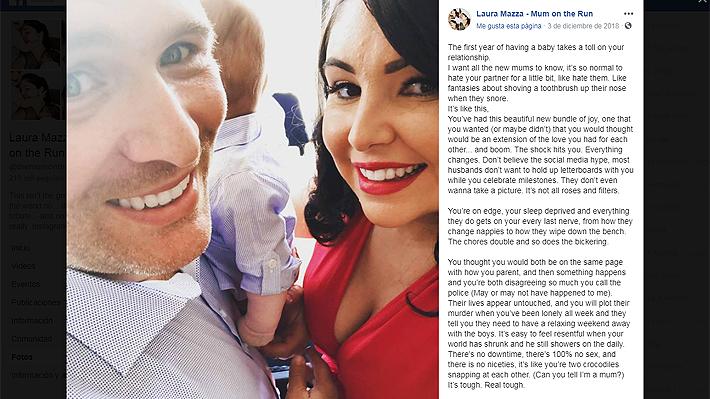 Madre australiana sacó risas al comparar las notas que dejó a la cuidadora de sus hijos con la de su marido