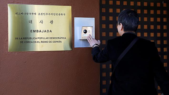 Asalto a embajada norcoreana en Madrid complica a EE.UU.: Autores tendrían nexos con la CIA
