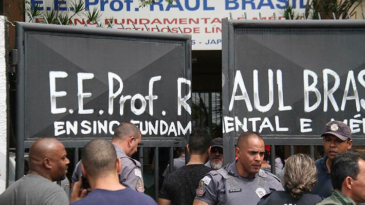 Tiroteo en escuela de Brasil: Dos jóvenes abren fuego y dejan al menos ocho muertos