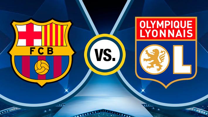 Revive la goleada del Barcelona sobre el Lyon con participación de Arturo Vidal
