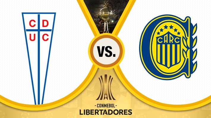 Así fue la infartante victoria de la UC sobre Rosario Central en la Libertadores