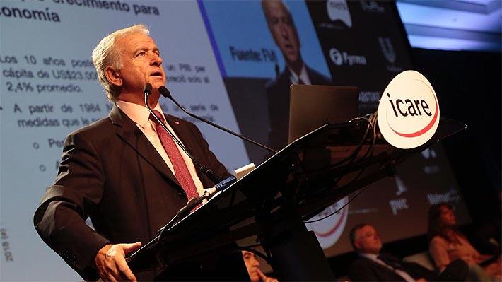 """Reforma Tributaria: Larraín dice que es """"peligrosamente optimista"""" sobre un acuerdo con la oposición"""