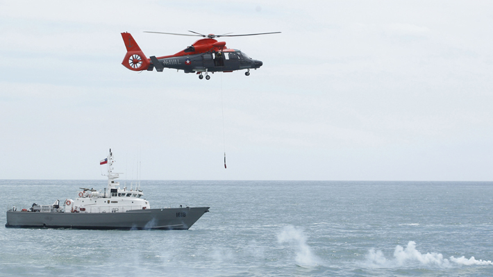 Armada capturó a pesquero peruano en zona económica exclusiva frente a Pisagua