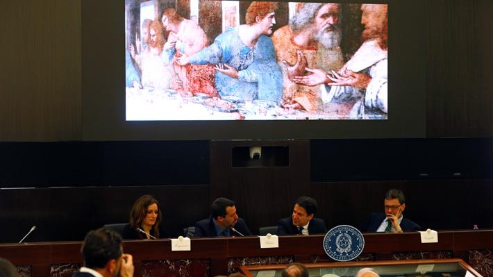 Italia anuncia programa para conmemorar el 500° aniversario de la muerte de Da Vinci