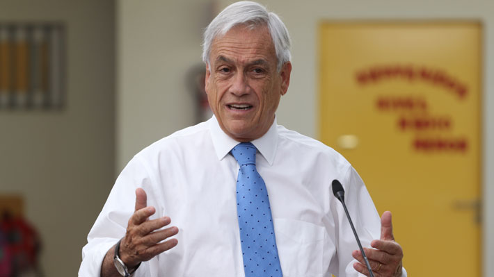Piñera confirma presentación de proyecto de control preventivo de identidad para la próxima semana