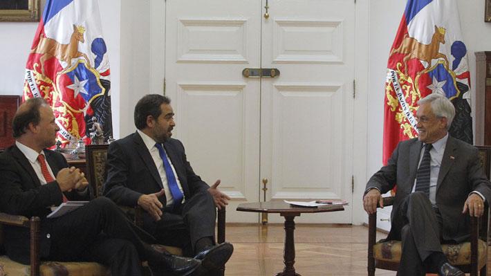 """Mesa del Senado se reúne con Piñera y plantea reparos a control de identidad: """"No es oportuno y es un retroceso"""""""