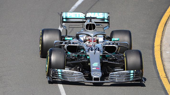Fórmula Uno: Hamilton manda desde el primer día y marca el mejor tiempo en los entrenamientos libres del GP de Australia