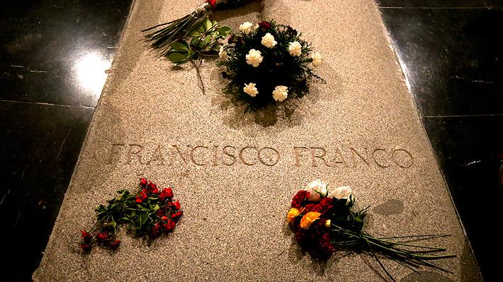 España: Restos de Francisco Franco serán exhumados de mausoleo y trasladados a cementerio el 10 de junio