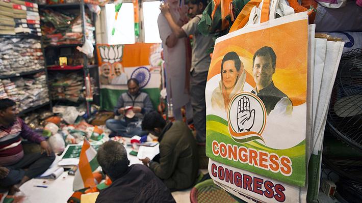 Desde campañas web hasta regalos como pollo al curry: Las razones detrás de las costosas elecciones en India