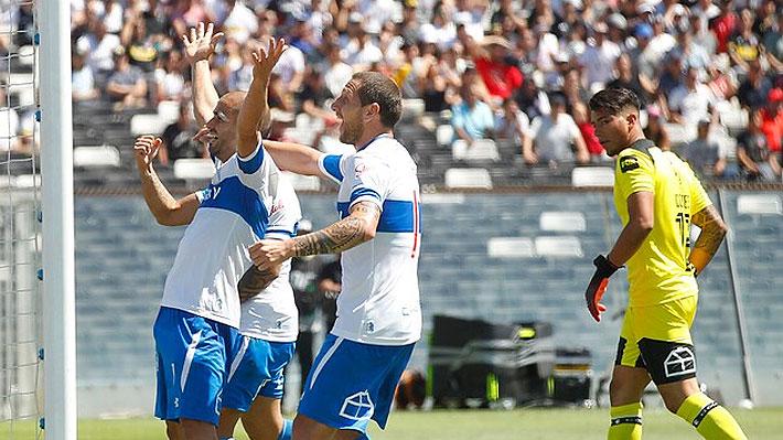 La UC gana a Colo Colo en el Monumental y le arrebata el liderato en un partido con sufrimiento y emoción