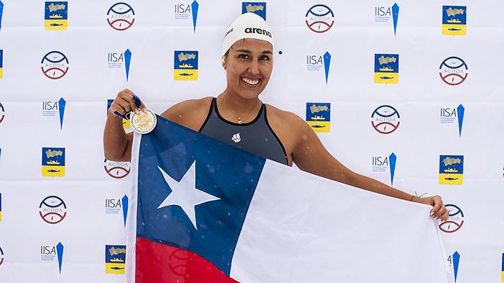 """Aguas Gélidas: La nadadora chilena """"Sirena de Hielo"""" obtiene un nuevo oro en Rusia en la I Arctic Cup"""