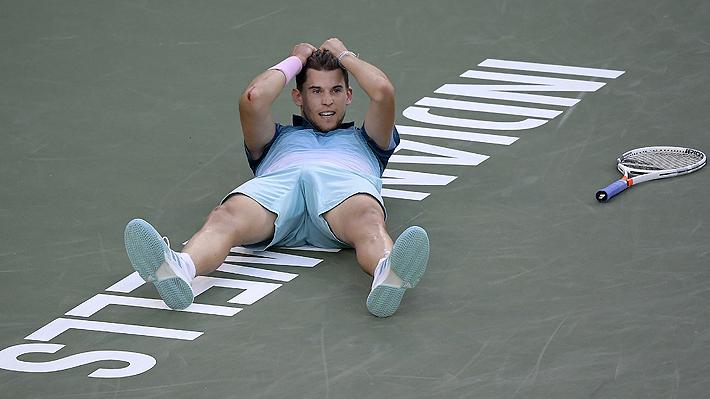 Bajo la tutela de Massú, Thiem da el batacazo al vencer a Federer y ganar su primer Masters 1.000