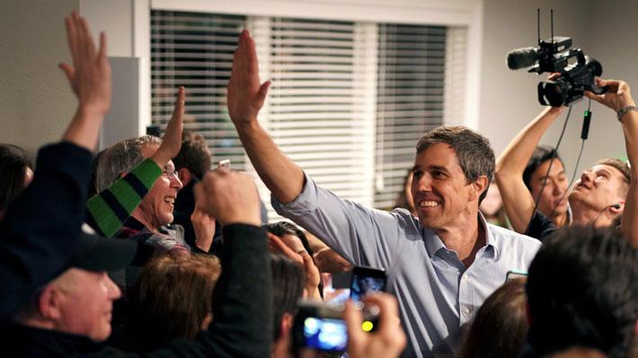Demócrata Beto O'Rourke recauda 6,1 millones de dólares en su primer día de campaña electoral en EE.UU.