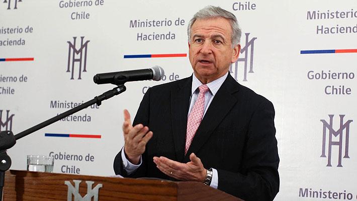 """Hacienda celebra """"sólida"""" alza de la economía chilena en 2018 y proyecta expansión de la inversión de 6% para 2019"""