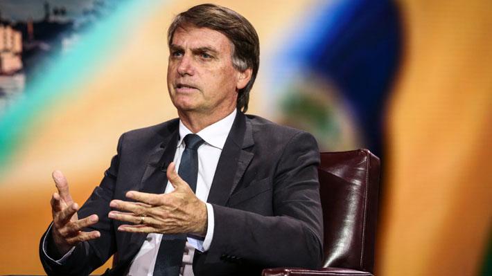 """Previo a su encuentro con Donald Trump, Bolsonaro llama a """"liberar Venezuela"""""""