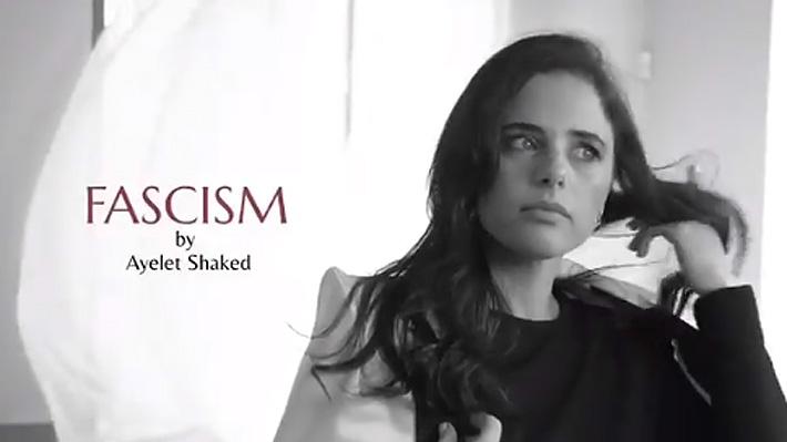 """Fascismo, me huele a democracia"": El provocador video electoral de ministra israelí"
