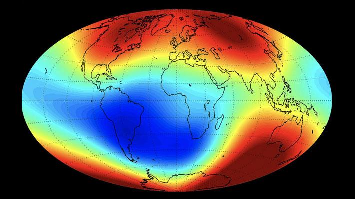Físicos chilenos descubren una relación clave entre los sismos y el campo magnético de la Tierra