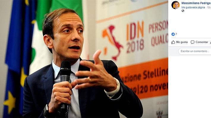 Político italiano contrario a la vacunación obligatoria tuvo que ser hospitalizado luego de contagiarse con varicela
