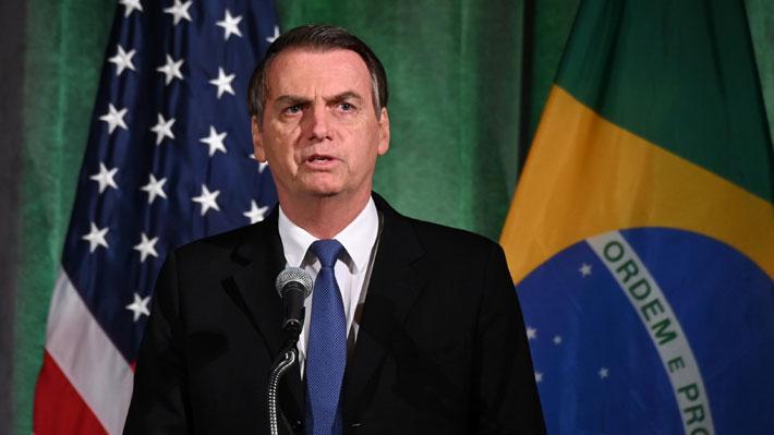 """Bolsonaro se reúne con Almagro para hablar de las """"narcodictaduras"""" de Venezuela y Cuba"""